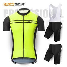 <b>2019 New</b> Cycling Jersey Set Summer Mountain Bike Clothing Pro ...