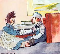 Image result for Raggedy Ann Stories (1918) written and illustrated by Johnny Gruelle