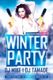 Image result for Seasonal Event Flyer Designs