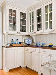 upper kitchen cabinets pbjstories screenbshotb: add furniture style details furniture style cabinets with feet and simple crown