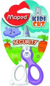 Купить Упаковка <b>ножниц MAPED</b> 037800 KIDICUT детские, 120мм ...