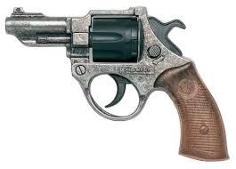 Револьвер <b>Edison Giocattoli</b> Police Deluxe FBI Federal Antik (206/96)
