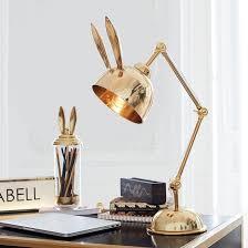 Scandinavian <b>modern</b> rabbit living room <b>desk</b> lamp study bedroom ...