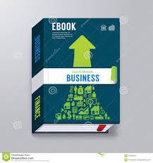 book cover business design template e book stock vector image book cover business design template e book