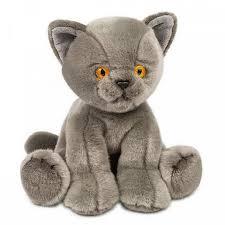 <b>Мягкая игрушка</b> MaxiLife Котик <b>Серый</b>: характеристики, купить в ...