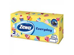<b>Салфетки косметические Zewa Deluxe</b> Everyday 2-х слойные 100 ...