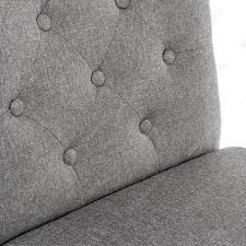 <b>Стул Menson white fabric</b> pebble серого цвета — купить по цене ...