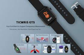 <b>TICWRIS GTS</b> Smart Watch With Body Temperature Waterproof ...