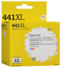 <b>Картридж T2 IC-CCL441XL</b>, голубой, пурпурный, желтый, для ...