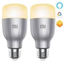 Buy Pack x2 Smart Bulb Xiaomi <b>Mi LED Smart Bulb</b> RGB ...