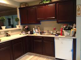 gel stain kitchen cabinets: image of best refinishing bathroom cabinets