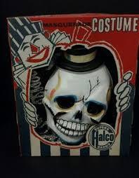 Vintage Plastic Halloween <b>Mask Ghoul Devil Demon</b>   Vintage ...