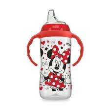 NUK® <b>Disney</b>® 10 oz. <b>Minnie Mouse Learner Cup</b> in Red | Bed Bath ...