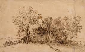 rembrandt van rijn prints essay heilbrunn cottage among trees
