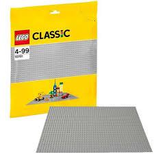 Купить <b>конструктор LEGO Classic</b> Строительная пластина серого ...