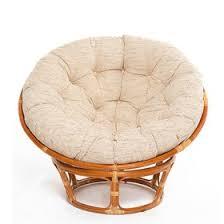 <b>Кресло PAPASAN</b>, с белой подушкой, ротанг, цвет коньячный, <b>23</b> ...