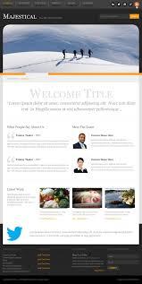 60 psd website templates premium templates majestical psd website template