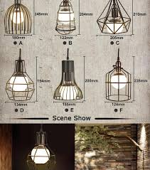 new vintage iron pendant light industrial loft retro droplight bar cafe bedroom restaurant american country style american country style loft