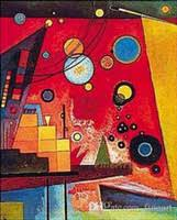 Discount Handmade <b>Wassily Kandinsky Paintings</b> Canvas ...