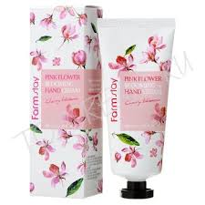 FARMSTAY <b>Pink</b> Flower Blooming Hand Cream - <b>Крем для рук</b> с ...