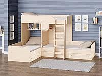 <b>Двухъярусная</b> трехместная <b>кровать</b> в России. Сравнить цены ...