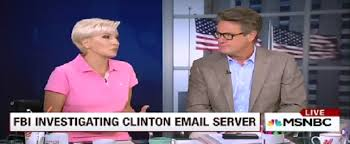 Image result for joe scarborough hillary image