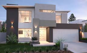 Modern House Design With Two Floors   Home DesignModern Double Storey House Designs