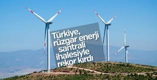 Türkiye, rüzgar enerji santrali ihalesiyle rekor kırdı