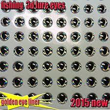 7mm 160pcs : 2015new <b>fishing</b> 3d lure <b>eyes</b> golden <b>eye</b> liner <b>fish</b> ...
