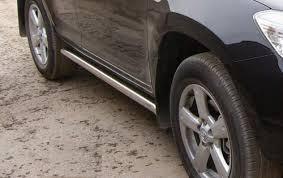 Тюнинг Toyota RAV4 09 <b>Пороги труба 60мм</b> - AGS Tuning