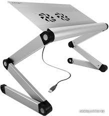 CrownMicro <b>CMLS</b>-<b>100</b> (серебристый) подставку для ноутбука ...
