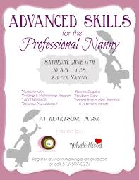 nanny flyer related keywords suggestions nanny flyer long tail events advanced skills for the professional nanny austin moms blog