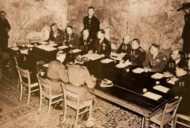 「1945, us and germany signed the surrender document」の画像検索結果