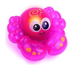 <b>Игрушка</b> для ванной со световым эффектом Крабик <b>Hap</b>-<b>p</b>-<b>Kid</b> ...