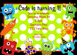 monster birthday party invitations theruntime com monster birthday party invitations to design foxy party invitation card based on your style 1811201611