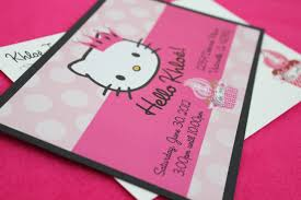 design hello kitty birthday invitations editable hello kitty hello kitty birthday invitations editable