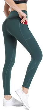 ALONG FIT High Waisted <b>Leggings</b> with Pockets for <b>Women</b> ...