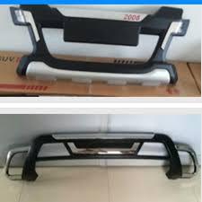 Высокое качество пластик ABS Хром <b>Передний</b> + задний бампер ...