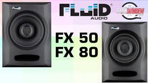 Активные двухполосные <b>мониторы Fluid</b> Audio FX50 и <b>Fluid</b> ...