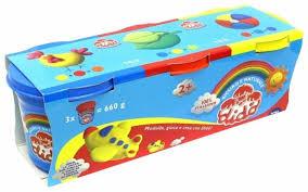 <b>Масса для лепки Dido</b> 3 цвета по 220 г (390460) — купить по ...