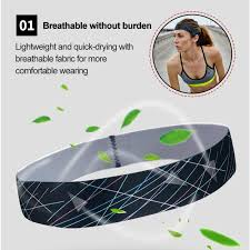 <b>1PC Cycling</b> Yoga Sport Sweat Headband Anti Slip Women Men ...