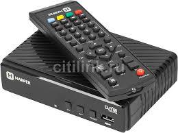 Купить <b>Ресивер</b> DVB-T2 <b>HARPER</b> HDT2-1513, черный в интернет ...