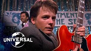 "<b>Back to the</b> Future | Marty McFly Plays ""Johnny B. Goode"" and ""Earth ..."
