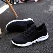 <b>ZYYZYM Shoes Men</b> All Black England Style Men Casual Shoes ...