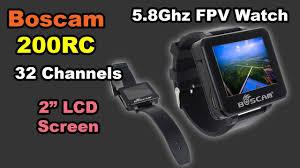 """Boscam <b>200RC FPV Watch</b> 5.8GHz 32CH 2"""" TFT Monitor Wireless ..."""