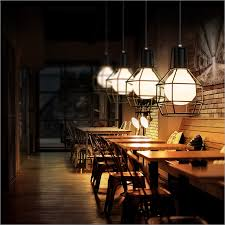 nordic loft retro personality creative study bedroom hallway hotel bar small restaurant cable chandelieriron cable lighting pendants