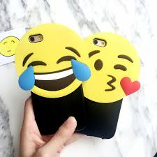 Stylish Cute Cartoon <b>3D Stereo</b> Smile Emoji Soft <b>Silicon</b> + Hard PC ...