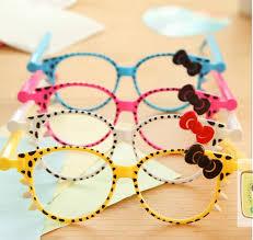 50pcs <b>lot Lovely</b> Hello Kitty Sunglass <b>Pen</b> Cute Kawaii Novelt...