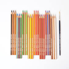 <b>Lyra Graduate Aquarelle</b> Coloured Pencils <b>24</b> | Conscious Craft