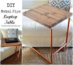 diy metal pipe laptop table home depot challenge amazing home depot office chairs 4 modern